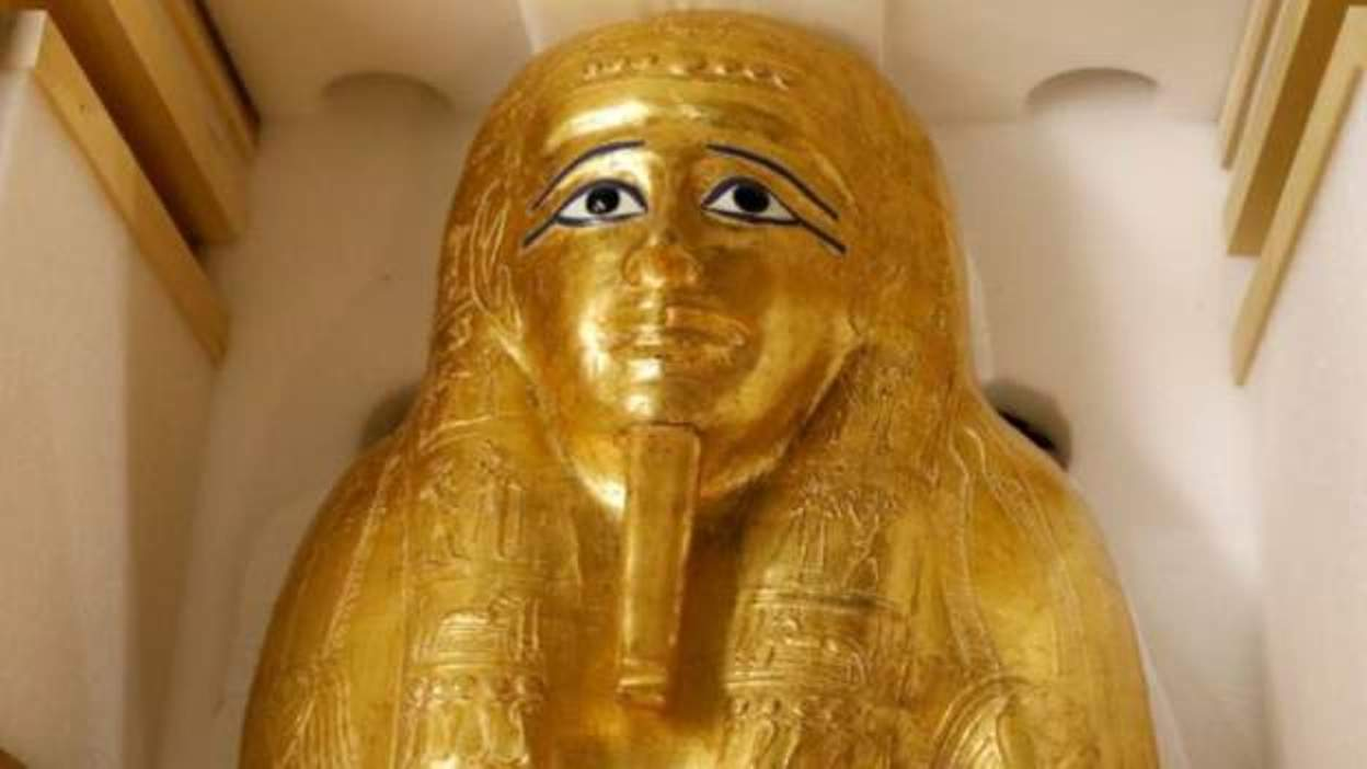 New York museum returns Egyptian gold coffin looted by art thieves
