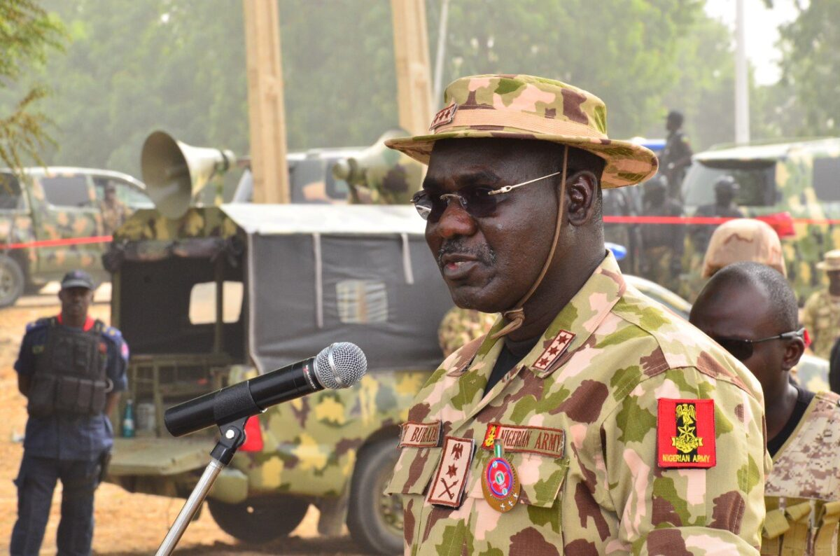 Chief of Army Staff, Tukur Buratai