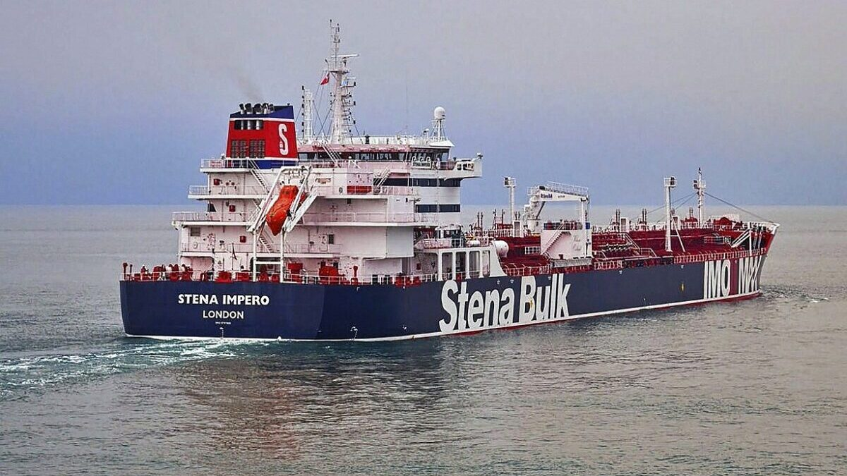 Iran releases British oil tanker leaves Iranian port to international waters