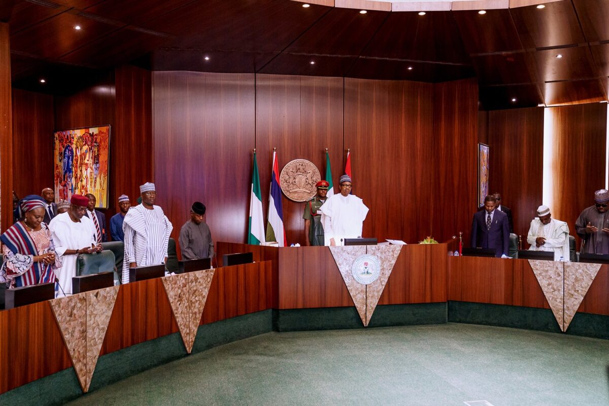 PHOTOs: Ahead of Budget presentation, Buhari presides over FEC Meeting