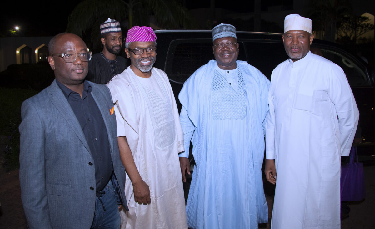 PHOTOs: Buhari receives Lawan, Gbajabiamila at Presidential Villa