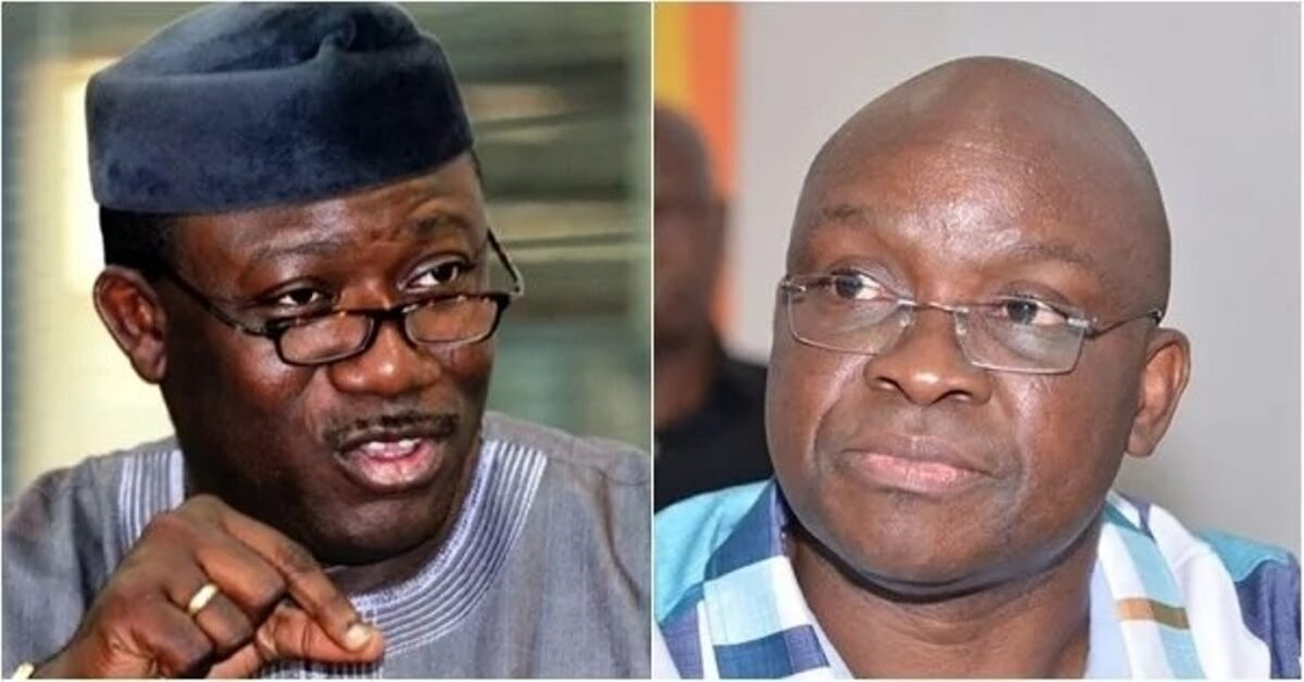 Thinking Out Loud: (APC Condemns Fayose's Ekiti Airport proposal) vs (Fayemi flags off Ekiti Airport Project)