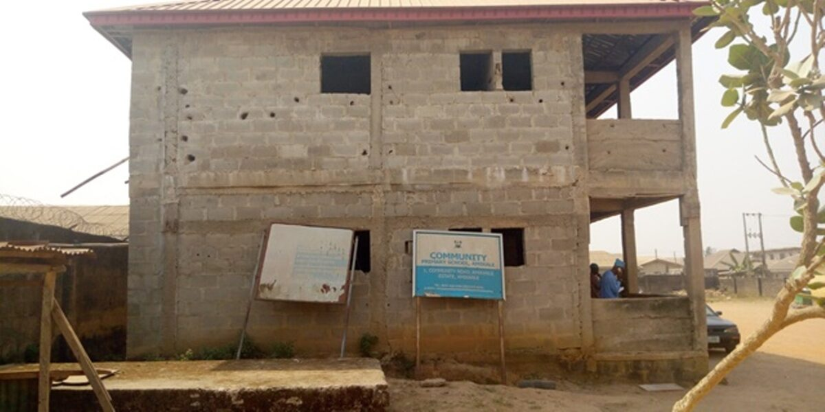 Amikanle A Lagos Community Struggling To Upgrade Education Infrastructure