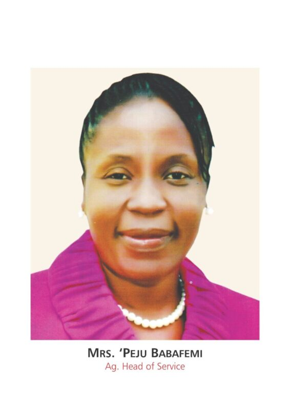 Fayemi  Names Babafemi, First Female Head Of Service