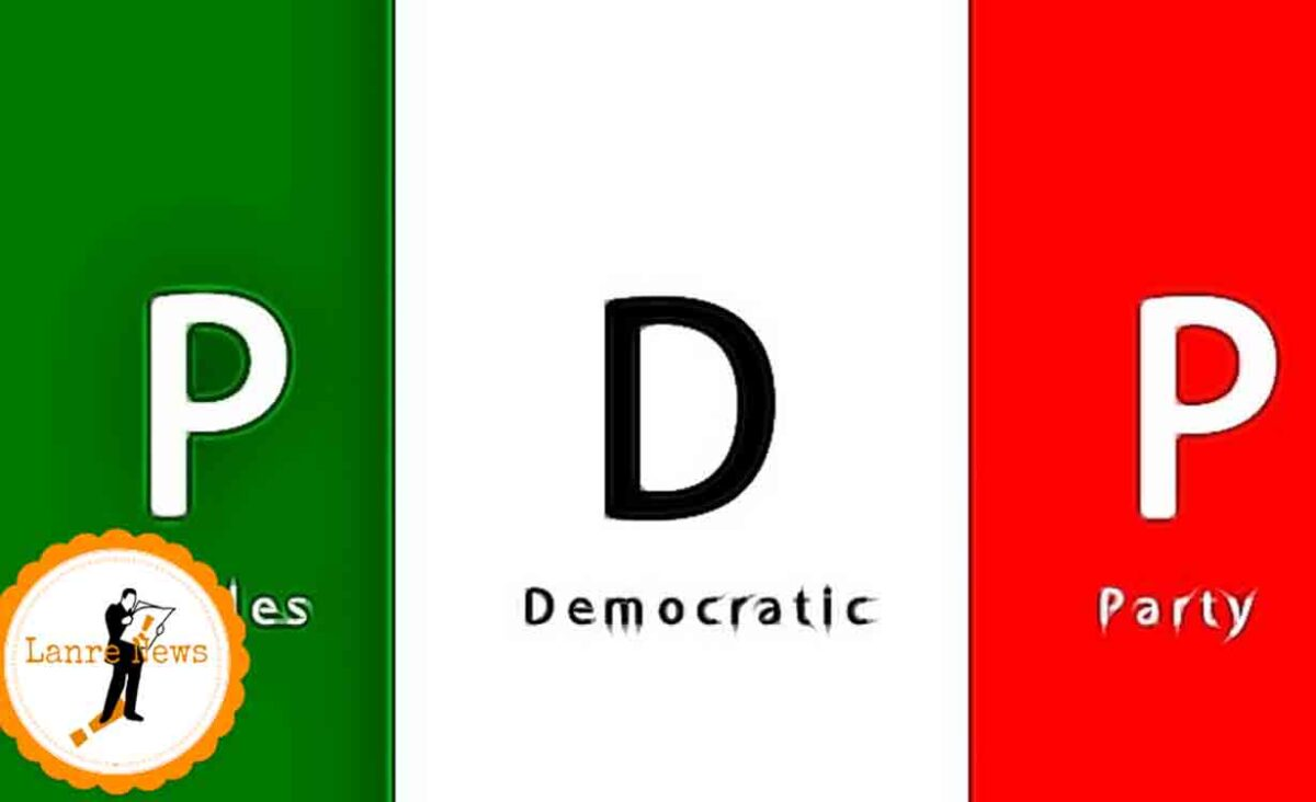 PDP In Edo Gets New State Executives