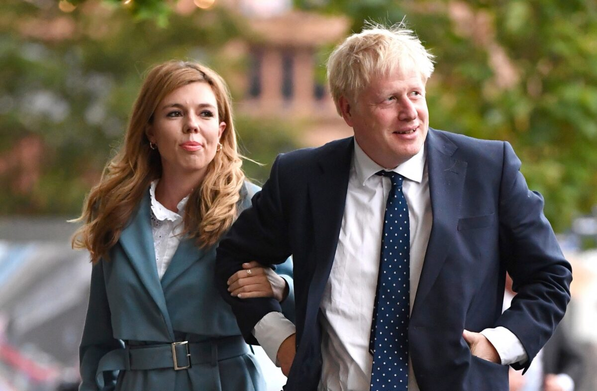 British PM, Boris Johnson's Partner Gives Birth to Baby Boy