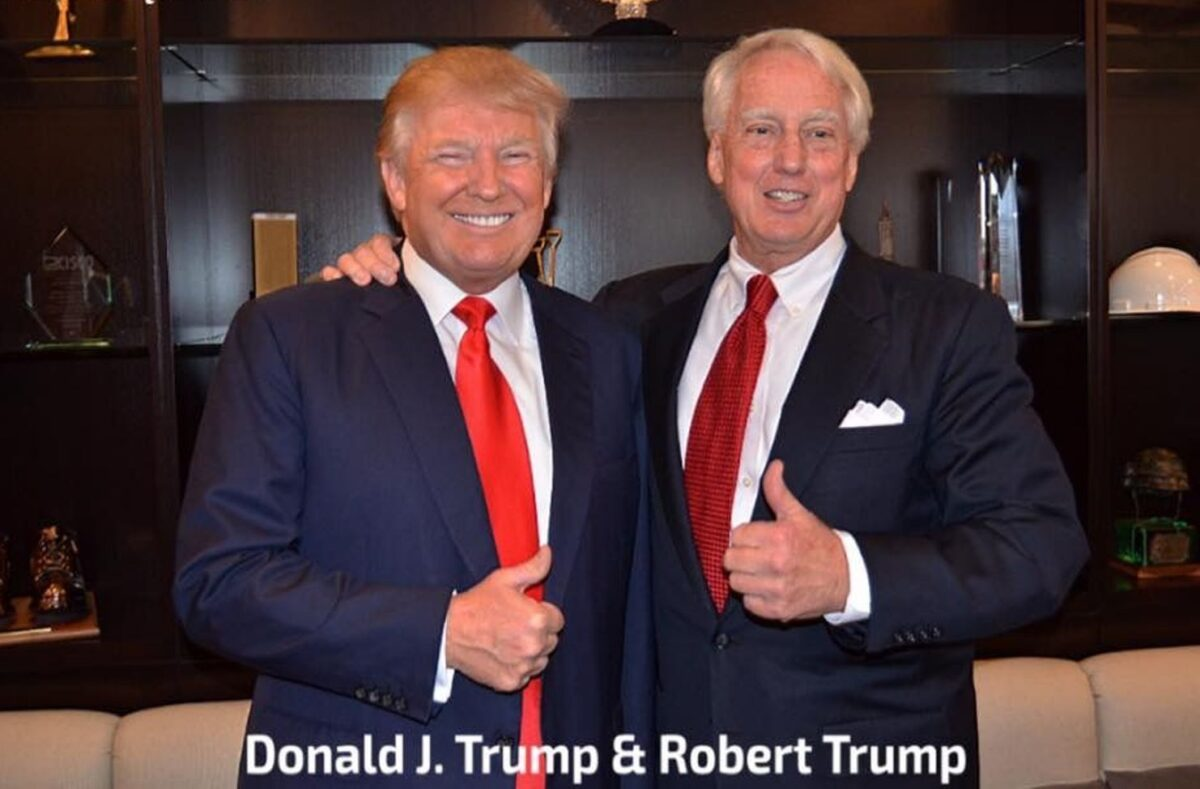 Donald Trump's Younger Brother, Robert, is Dead