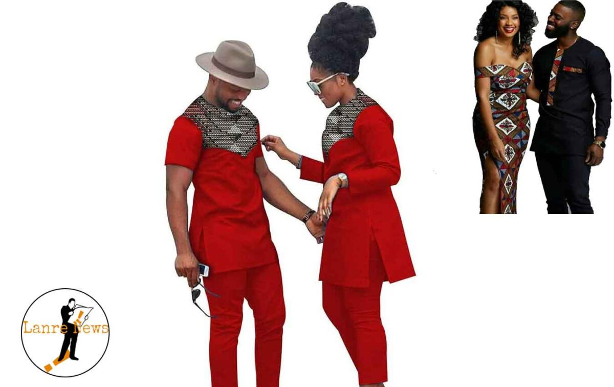 20 Ankara Styles for Couples' Weekend Outing