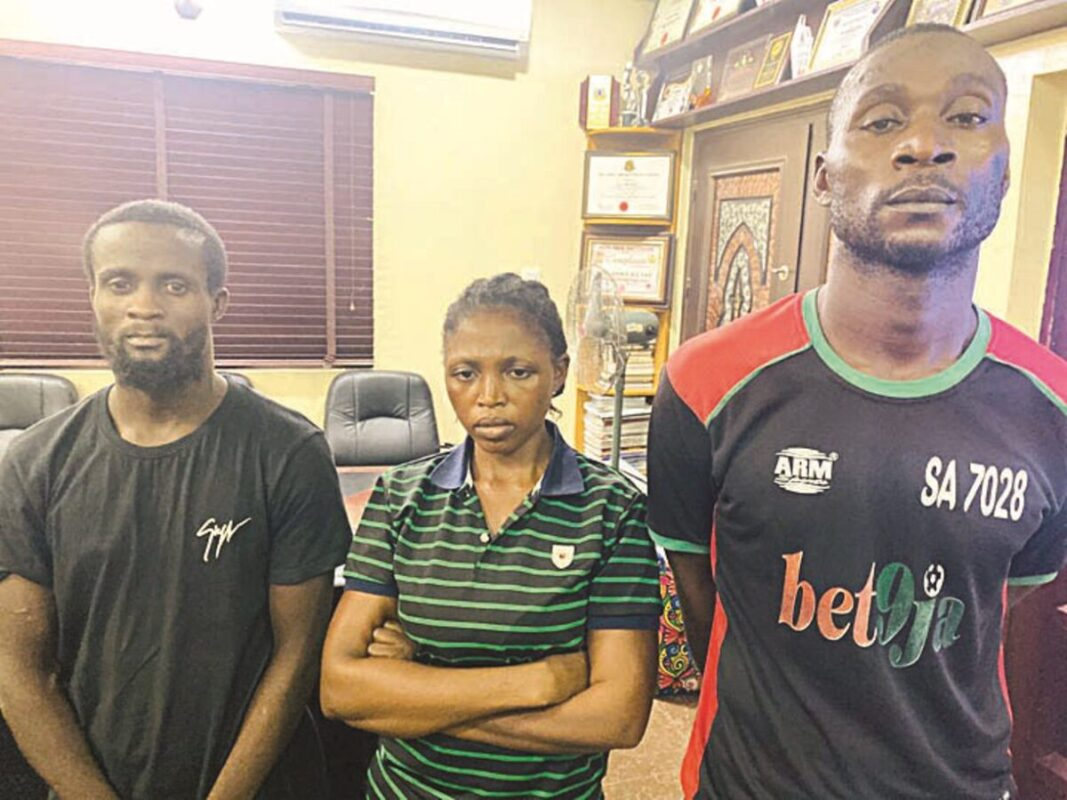 Prostitute arrested for stealing customer's car in Nasarawa