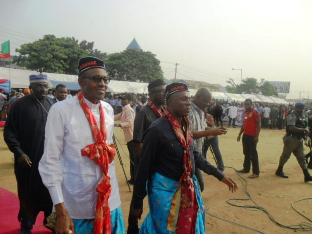 South East Agog, as Ohanaeze Lauds Buhari, Amaechi for Breaking 42 Years Jinx at Onitsha Dry Sea Port