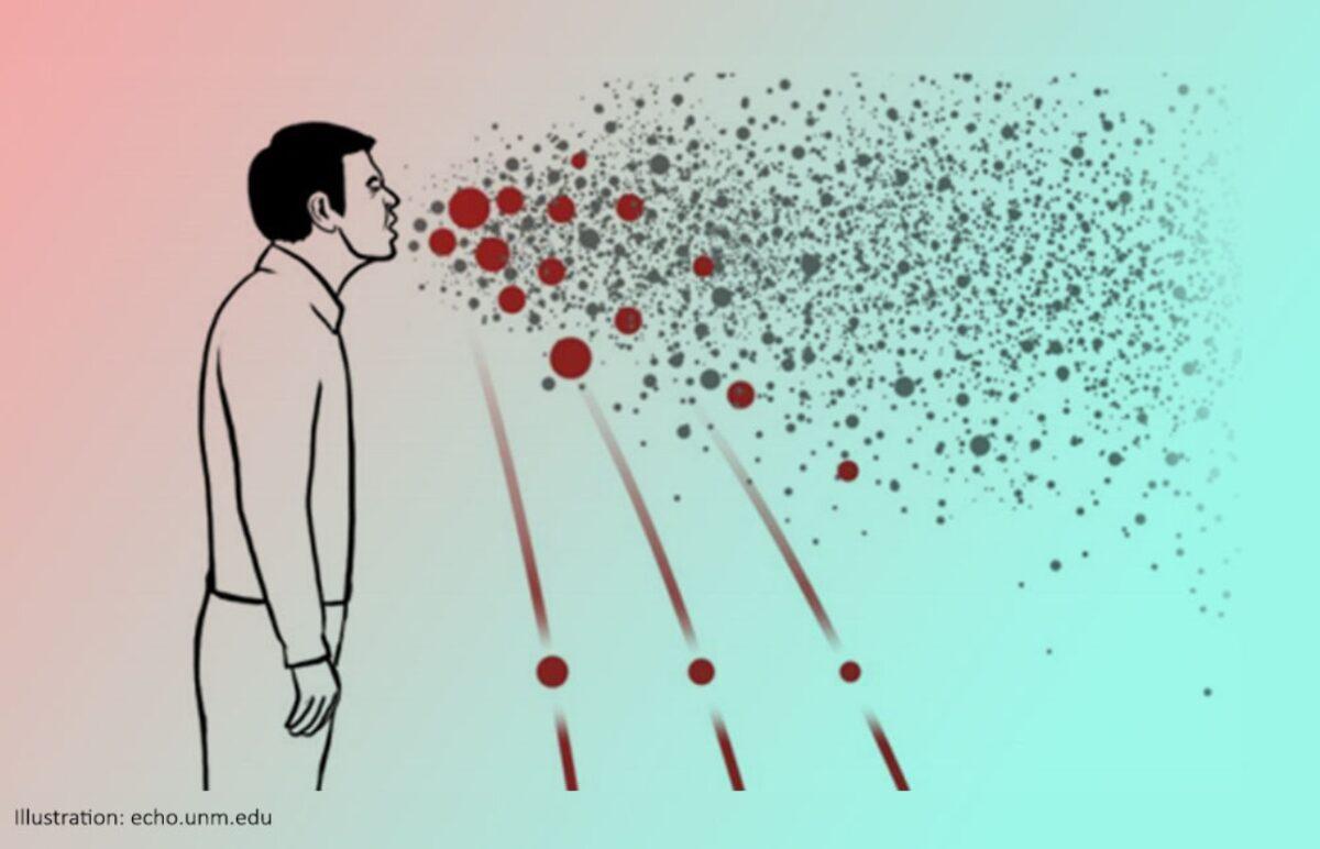 Can The Coronavirus Travel More Than 6 Feet In The Air?