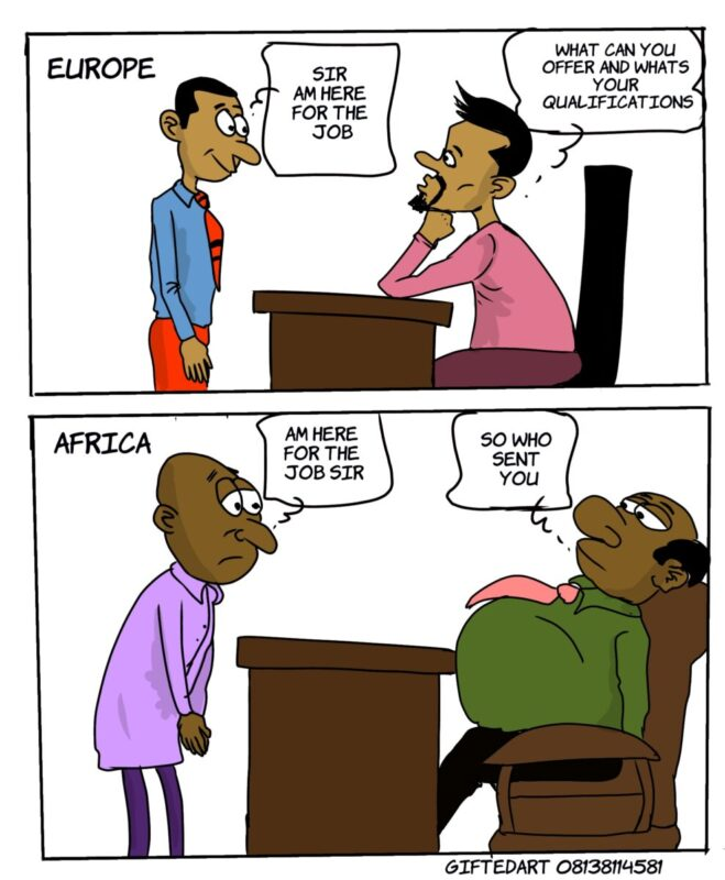 Job Application/Interview in Europe Vs Africa