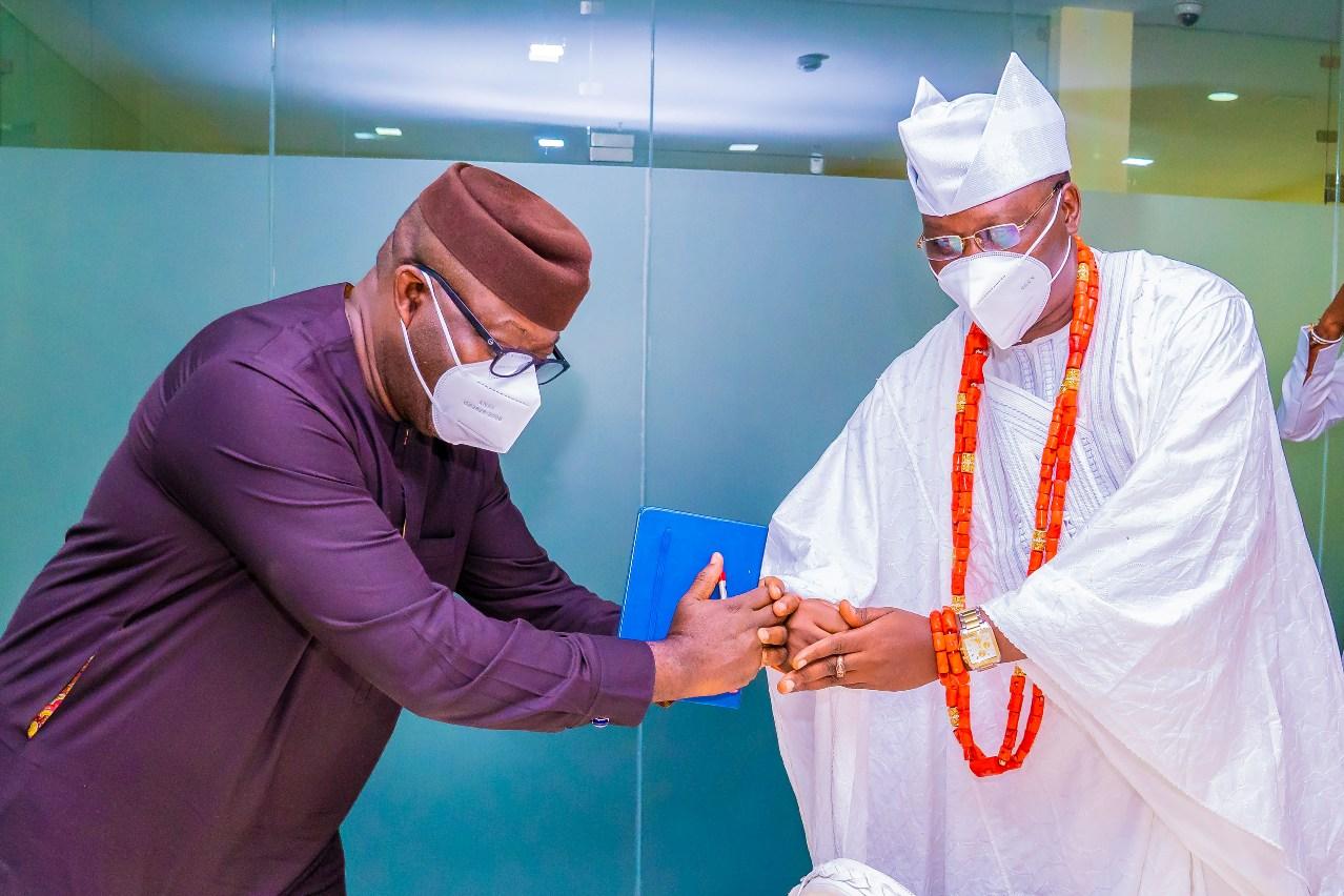 Closed-Door Discussion Between Fayemi, Gani Adams